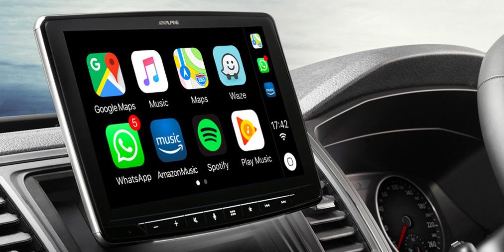 Autoradio GPS écran rétractable