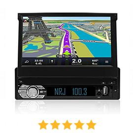 Poste radio 1 DIN Android - GPS